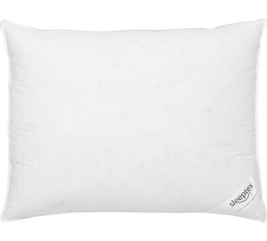 POLŠTÁŘ 3KOMOROVÝ, 70/90 cm - bílá, Basics, textil (70/90cm) - Sleeptex