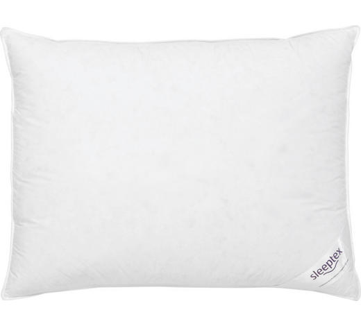 POLŠTÁŘ 3KOMOROVÝ - bílá, Basics, textil (70/90cm) - Sleeptex