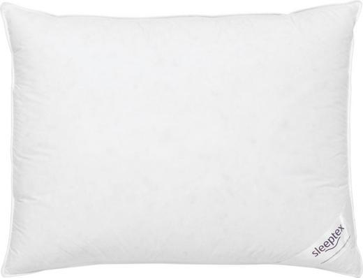 POLŠTÁŘ 3KOMOROVÝ - bílá, Basics, textilie (70/90cm) - Sleeptex