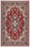 Webteppich Pierre 160x225 cm - Rot, KONVENTIONELL, Textil (160/225cm) - Ombra