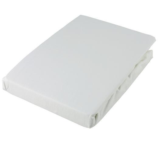 SPANNLEINTUCH 180/200 cm  - Weiß, Basics, Textil (180/200cm) - Fussenegger