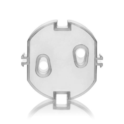 STECKDOSENVERSCHLUSS - Transparent, Basics, Kunststoff - Reer