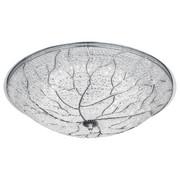 STROPNA LED SVETILKA, Ø 48 CM - krom, Trendi, kovina/umetna masa (48/14cm)
