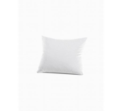 KISSENHÜLLE Weiß 80/80 cm  - Weiß, Basics, Textil (80/80cm) - Schlafgut