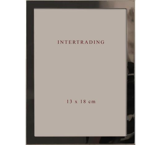 BILDERRAHMEN  Silberfarben  - Silberfarben, Basics, Glas/Metall (15/20/2cm)