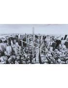 REPRODUKCIJA - bijela/siva, Lifestyle, drvo/metal (120/70cm) - Monee