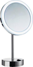 Kosmetikspiegel - Chromfarben, Basics, Glas/Metall (20/38cm)
