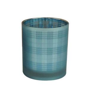 VÄRMELJUSHÅLLARE - blå, Trend, glas (9/10cm) - Ambia Home