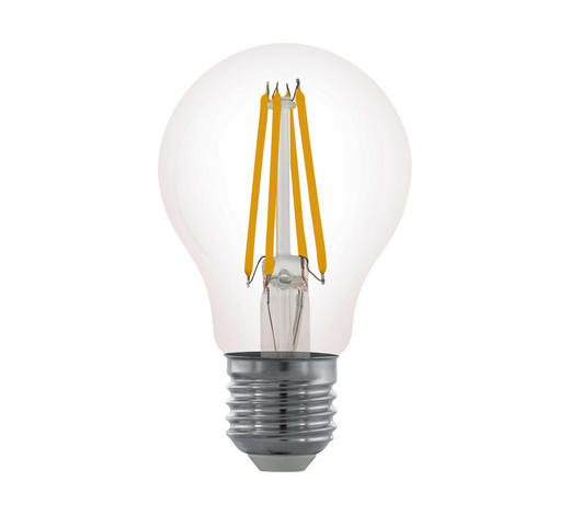 LED-Leuchtmittel E27 - Klar, Basics, Glas (10cm)