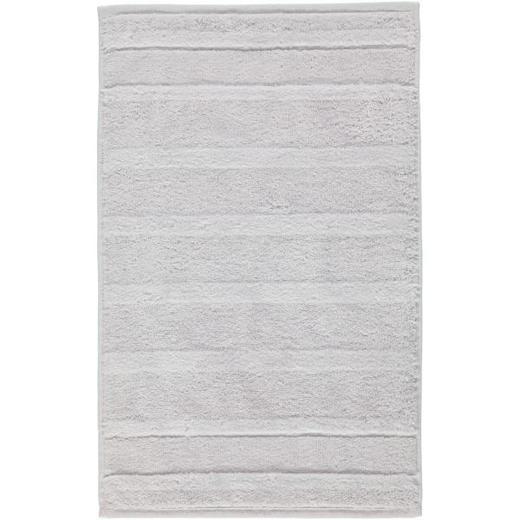 GÄSTETUCH  Silberfarben 30/50 cm - Silberfarben, Textil (30/50cm) - CAWOE