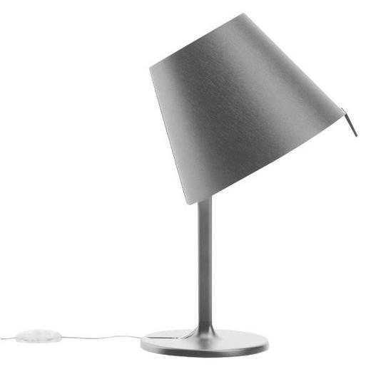 MELAMPO NOTTE 0710010A - Grau, Design, Kunststoff/Metall (23/40cm) - Artemide