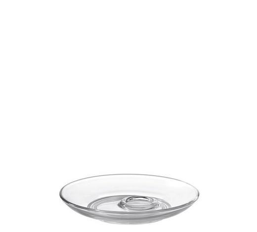 UNTERTASSE - Transparent, Basics, Glas (11,50cm) - Leonardo