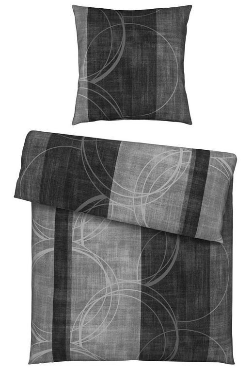 BETTWÄSCHE Biber Anthrazit 135/200 cm - Anthrazit, KONVENTIONELL, Textil (135/200cm) - Novel