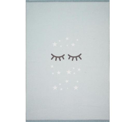 KINDERTEPPICH  140/190 cm  Weiß, Mintgrün - Weiß/Mintgrün, Basics, Textil (140/190cm)