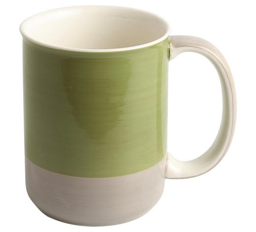 HRNEK NA KÁVU, kamenina - šedá/zelená, Design, keramika (8,4/10,7cm) - Landscape