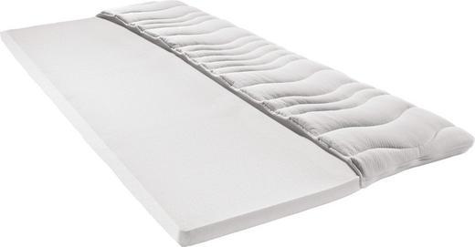 TOPPER 90/200 cm Viscoschaumkern - Weiß, Basics, Textil (90/200cm) - SLEEPTEX