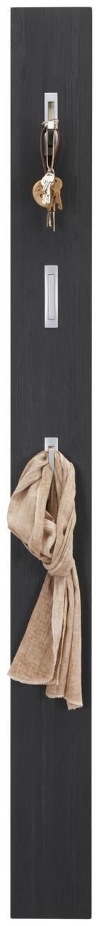 GARDEROBENPANEEL - Schwarz, Design, Holzwerkstoff (15/170/4cm) - XORA