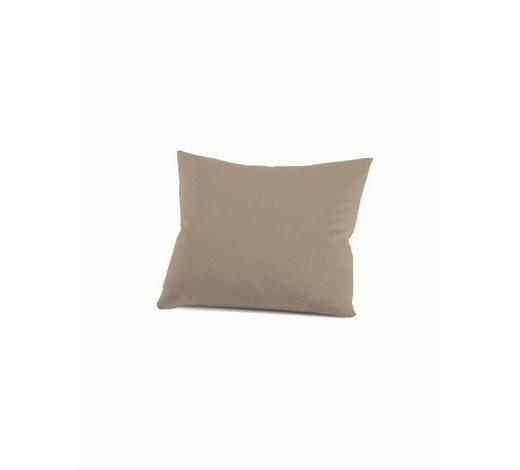 KISSENHÜLLE - Hellbraun, Basics, Textil (40/40cm) - Schlafgut