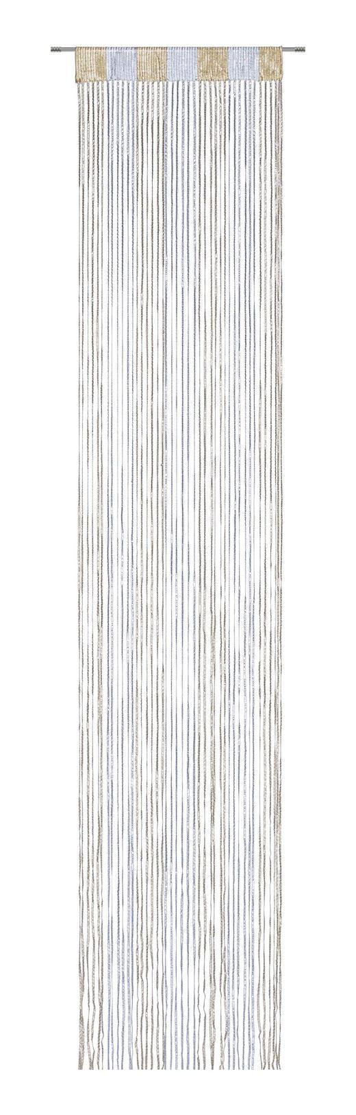 FADENSTORE  transparent  90/245 cm - Silberfarben/Goldfarben, Design, Textil (90/245cm) - Boxxx
