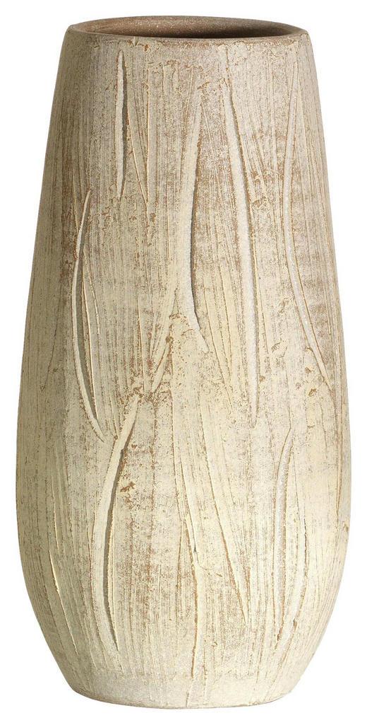 VASE 30 cm - Creme, Design, Keramik (15/11/30cm) - Ritzenhoff Breker