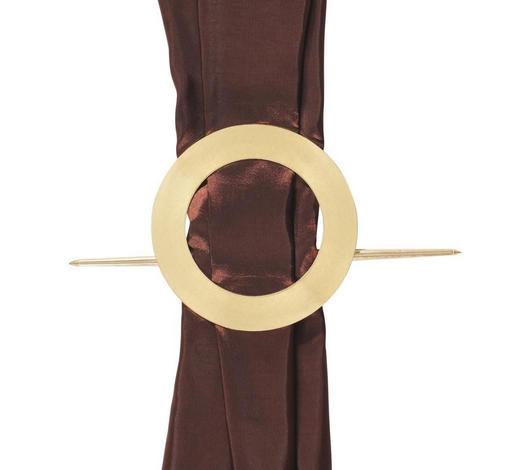 OUŠKO - barvy zlata, Basics, umělá hmota (5.5cm)