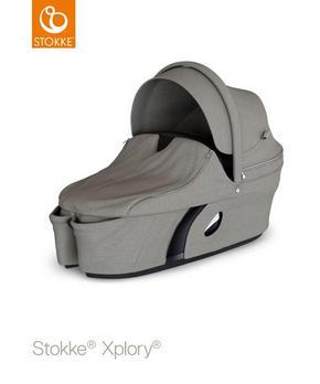 stokke xplory v6 liggdel - grå, textil/plast (99/60/40cm) - Stokke