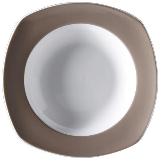 SUPPENTELLER Porzellan - Dunkelbraun, Basics, Keramik (21cm) - Ritzenhoff Breker