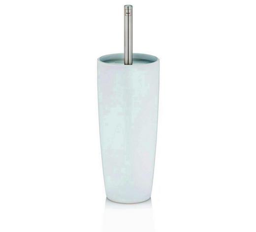 WC-BÜRSTENGARNITUR - Weiß, Basics, Keramik/Kunststoff (11/37cm) - Kela