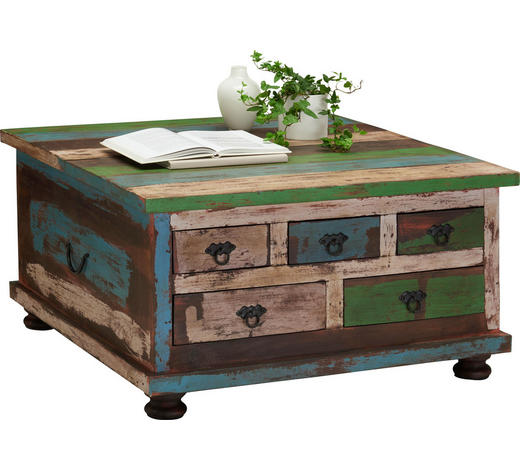 Couchtisch In Holz Holzwerkstoff 88 88 47 Cm Online Kaufen Xxxlutz