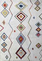 TEPIH VISOKOG FLORA - višebojno, Lifestyle, tekstil (130/190cm) - Novel
