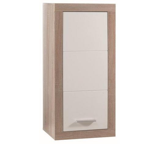 VISEĆI ELEMENT - bijela/boje hrasta, Design, drvni materijal/drvo (47/102/37cm) - Xora