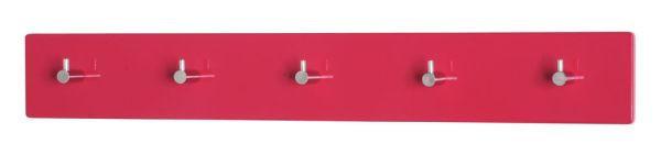 GARDEROBA ZIDNA - boje kroma/crvena, Design, drvni materijal/metal (57/5/8cm) - BOXXX