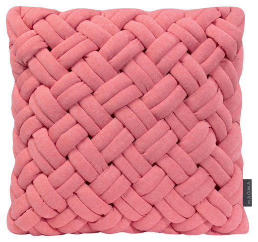 KISSENHÜLLE Rosa - Rosa, Textil (40/40cm)