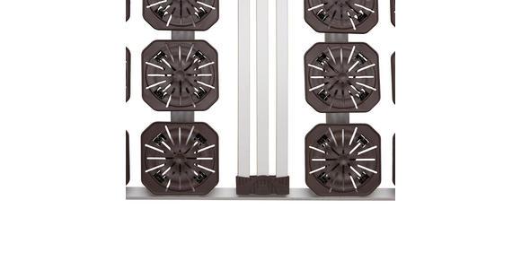 LATTENROST 80/200 cm Birke ,Schichtholz - Hellgrau/Weiß, Basics, Holz/Kunststoff (80/200cm) - Dieter Knoll