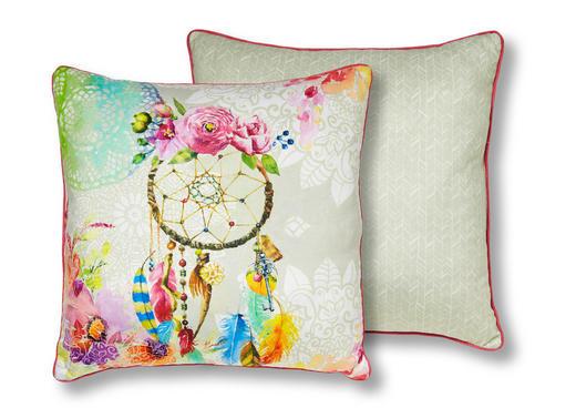 ZIERKISSEN 48/48 cm - Multicolor, Textil (48/48cm)