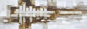 OLJEMÅLNING - multicolor, Basics, metall/trä (50,5/150cm)
