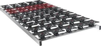 LATTENROST 90/200 cm  - Dunkelbraun/Dunkelrot, Basics, Kunststoff (90/200cm) - Sleeptex