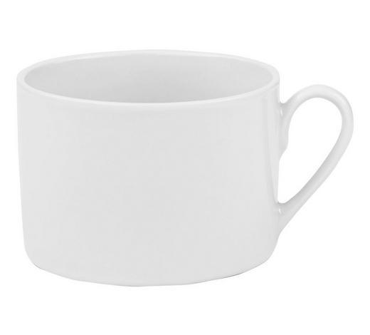 ŠÁLEK NA KÁVU, porcelán,  - bílá, Basics, keramika (0,22l) - Homeware