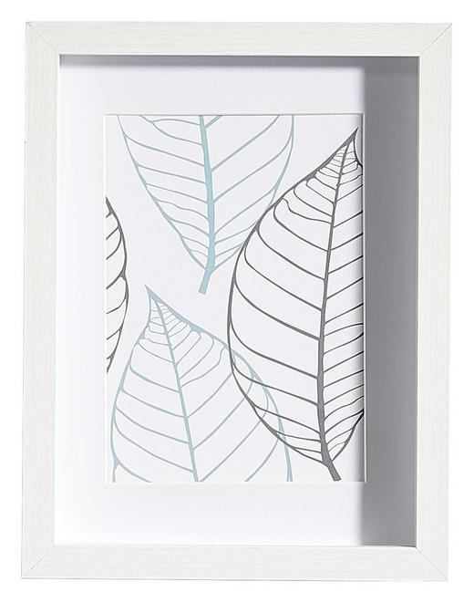 BILDERRAHMEN in Weiß - Weiß, Basics, Glas/Holz (20/26/3cm)