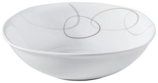 SCHÜSSEL Keramik Porzellan - Braun/Weiß, Basics, Keramik (23/23/7cm) - Ritzenhoff Breker