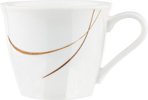 ESPRESSOTASSE 100 ml - Schwarz/Braun, Design, Keramik (0,1l) - Ritzenhoff Breker