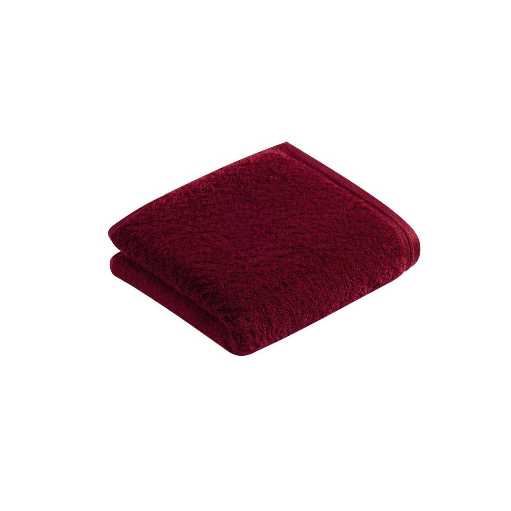 Vossen HANDTUCH 50/100 cm, Rot | Bad > Handtücher > Handtuch-Sets | Rot | Textil | Vossen