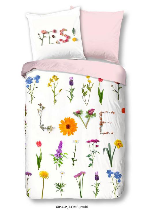 BETTWÄSCHE Renforcé Multicolor 200/200 cm - Multicolor, Textil (200/200cm)