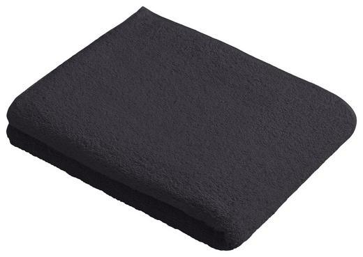 BADETUCH 100/150 cm - Anthrazit, Basics, Textil (100/150cm) - Vossen