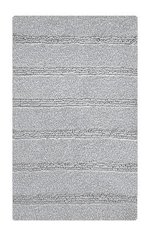 BADTEPPICH  Grau  60/60 cm - Grau, Basics, Kunststoff/Textil (60/60cm) - Kleine Wolke