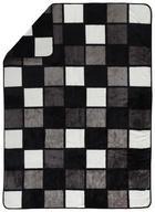 WOHNDECKE 150/200 cm - Schwarz/Weiß, KONVENTIONELL, Textil (150/200cm) - Novel