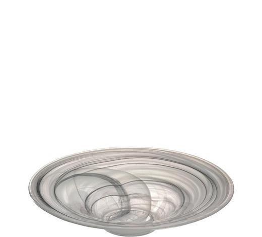 DEKOSCHALE - Klar/Beige, Basics, Glas (35/7,60/35cm) - Leonardo