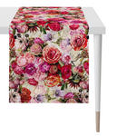 TISCHLÄUFER Textil Leinwand Multicolor, Rosa, Altrosa  - Multicolor/Altrosa, LIFESTYLE, Textil (48x140cm) - Landscape