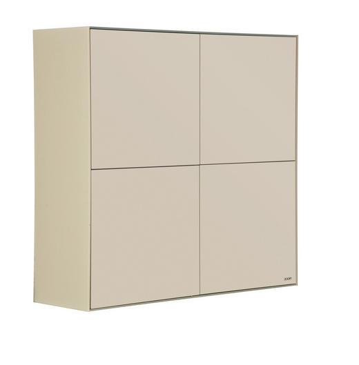 HÄNGEELEMENT Beige - Beige, Design, Glas/Holzwerkstoff (101/101/35cm) - Joop!