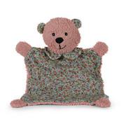 SCHMUSETUCH - Rosa, Basics, Textil (27cm) - Sterntaler